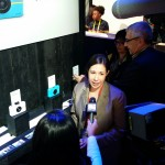 Tracey at CES