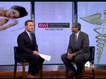 Robert Wood Johnson University Hospital Physician Featured on NBC New York 4