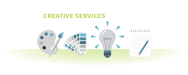 Creative Services header image