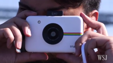 The Polaroid Snap Brings Vintage Back in The Wall Street Journal