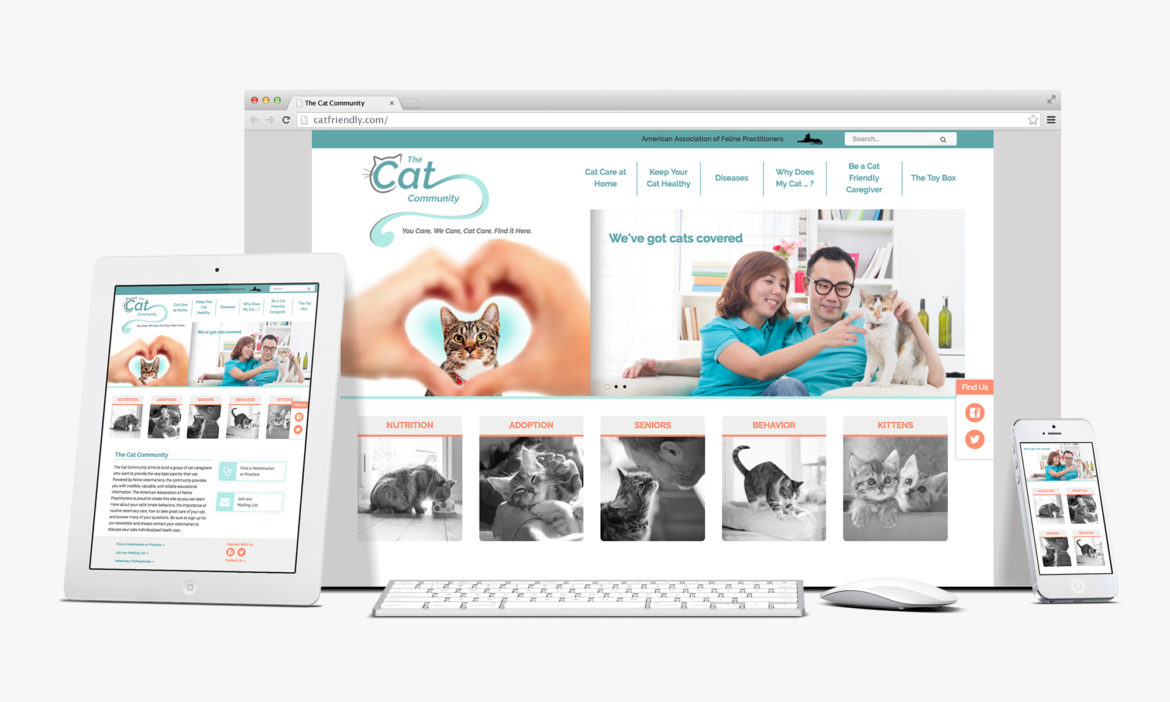 R&J Launches the Cat Community Website for AAFP