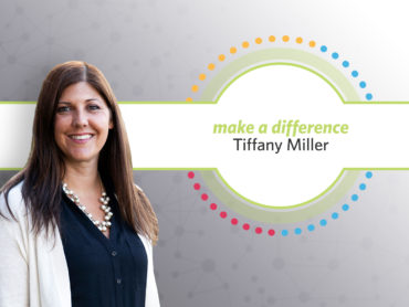 Make a Difference Award: Tiffany