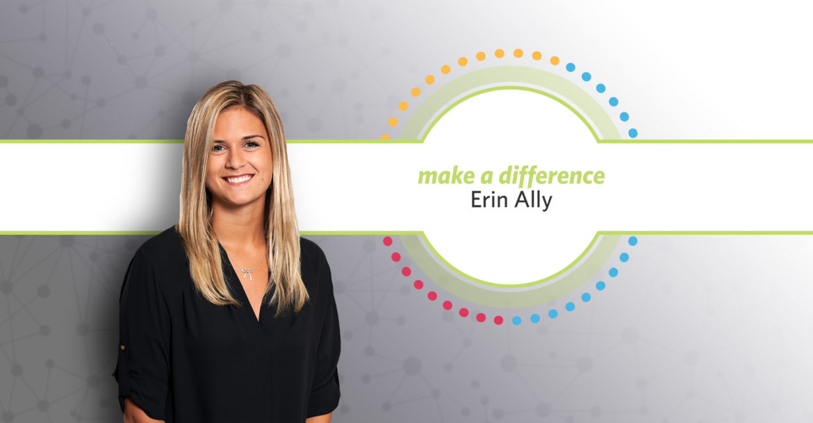 Erin Ally Receives Make a Difference Award