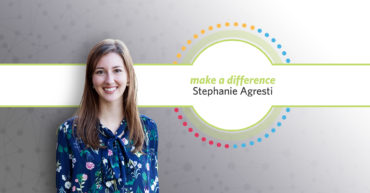 Stephanie Agresti Receives Make a Difference Award