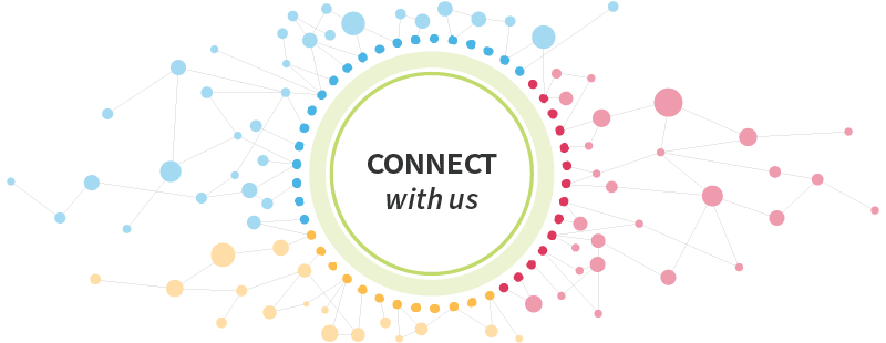 Connect with Us header graphic