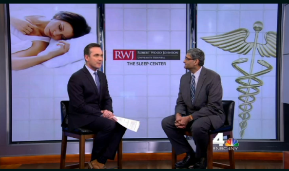 Robert Wood Johnson University Hospital Physician Featured on NBC New York 4