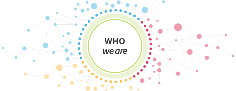 Who We Are header graphic