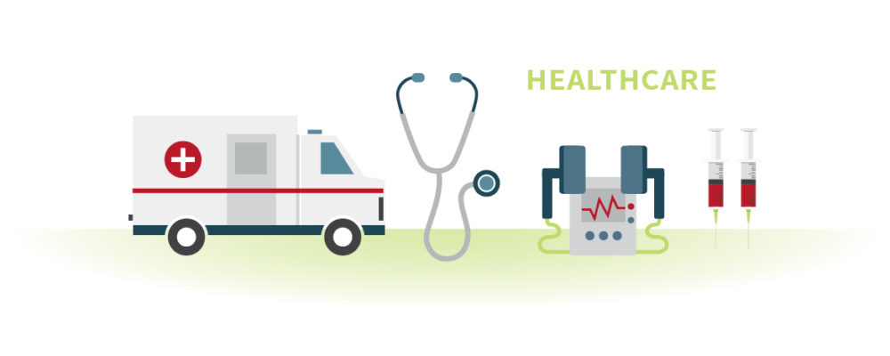 Healthcare header graphic