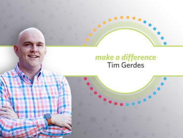 Tim Gerdes Receives Make A Difference Award
