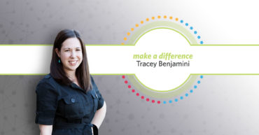 Tracey Benjamini Receives First Make A Difference Award