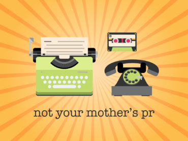 Header image: Not Your Mother's PR