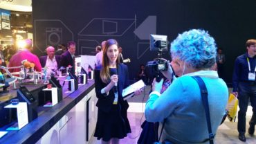 Stephanie at CES 2016