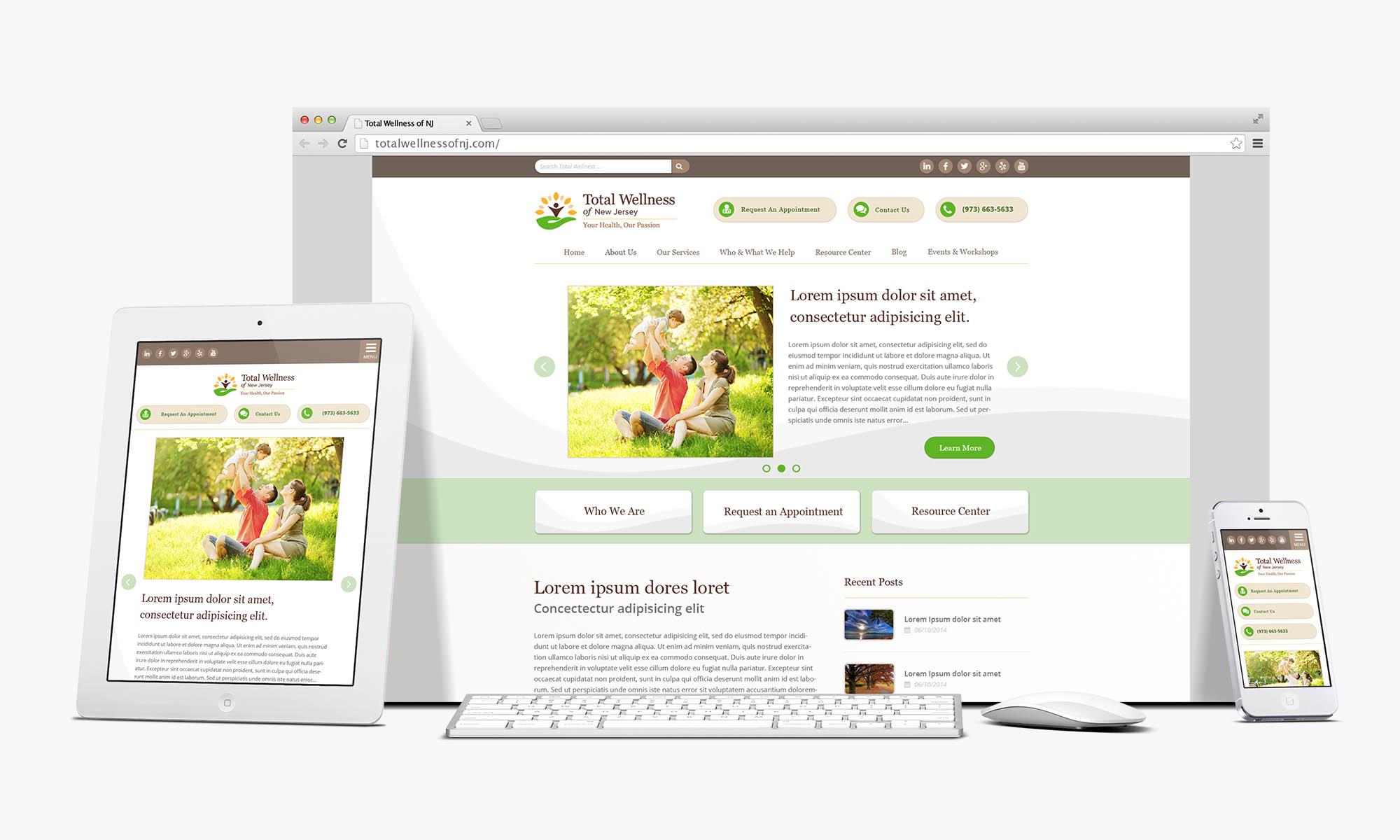 Total Wellness Of Nj Website R J Strategic Communications