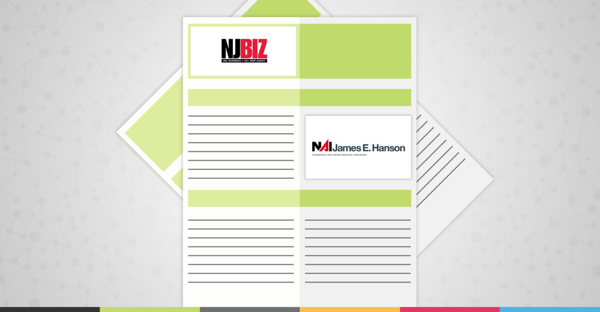 NJBIZ Features NAI James E. Hanson Exclusive Listing Assignment