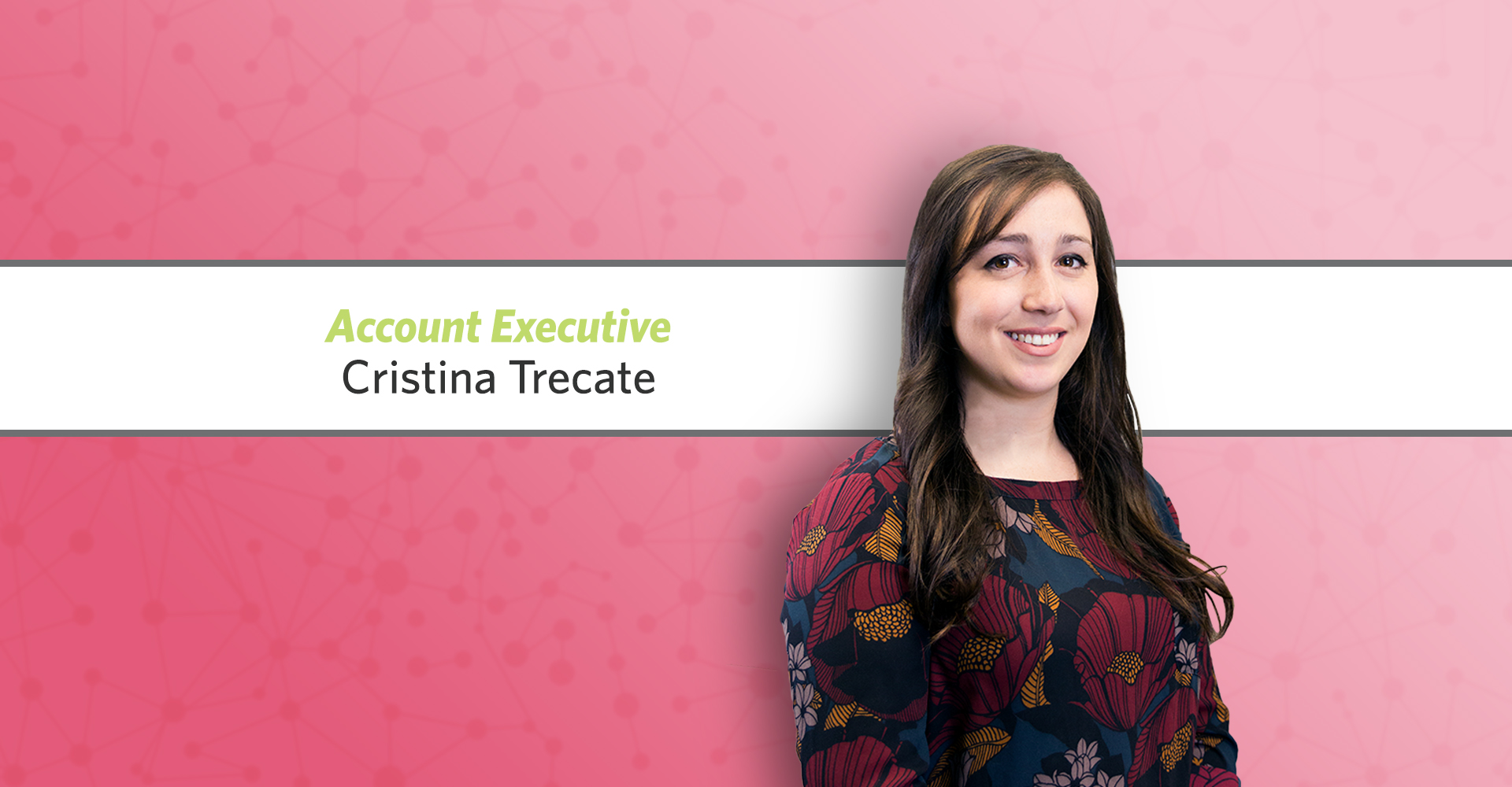 Cristina Trecate Joins The Agency as Account Executive