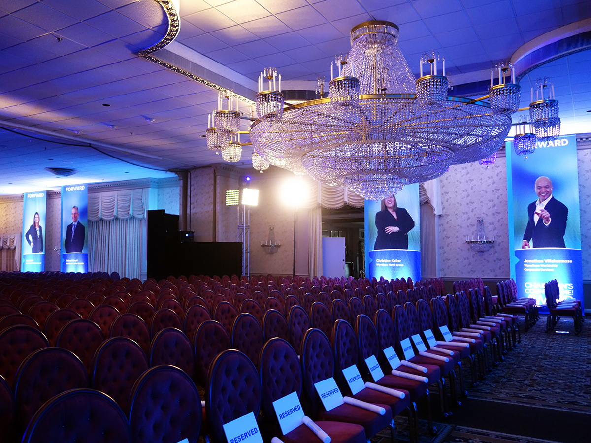 Wyndham Town Hall ballroom