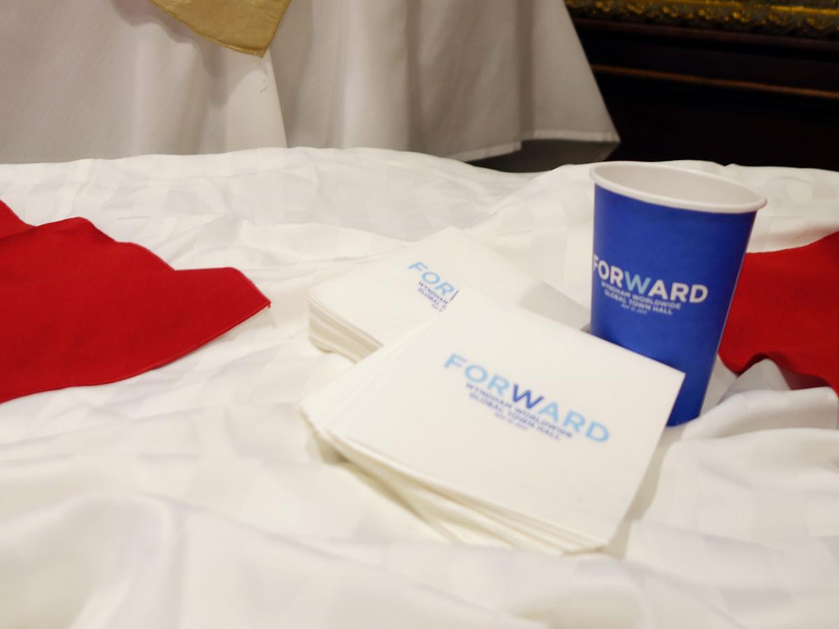 Wyndham Town Hall breakfast