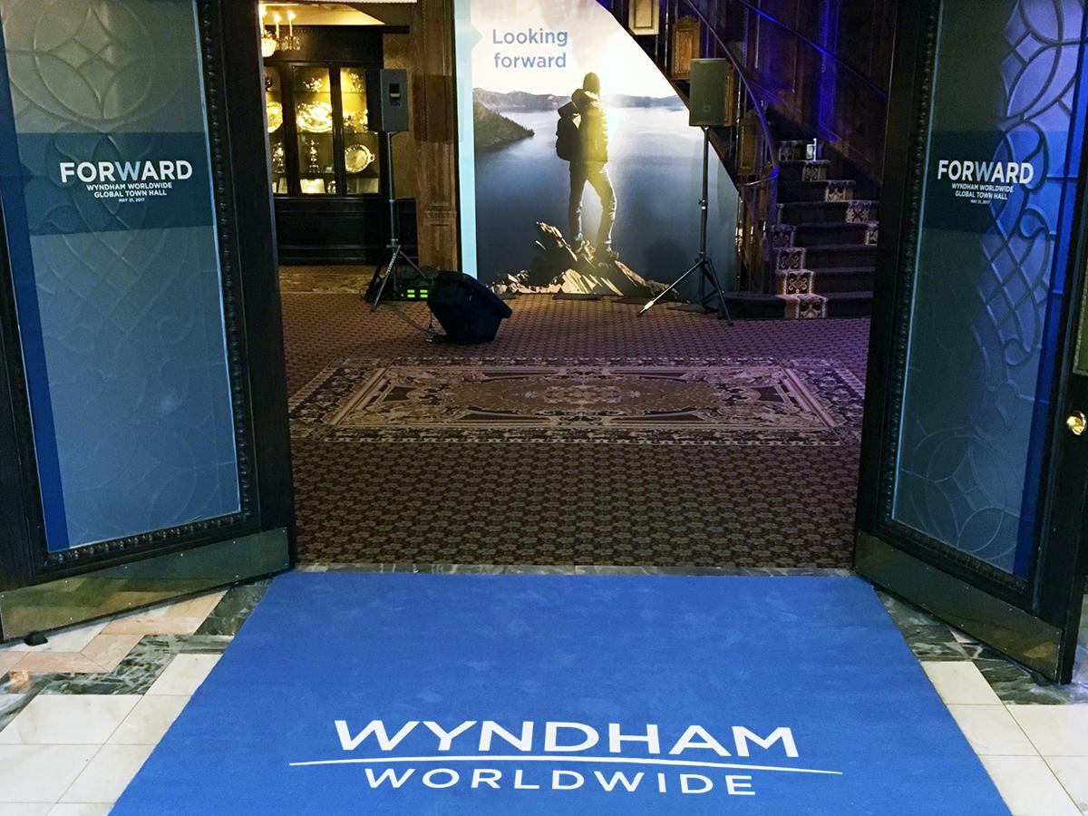 Wyndham Town Hall entry