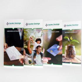 Four GSFCU Brochures