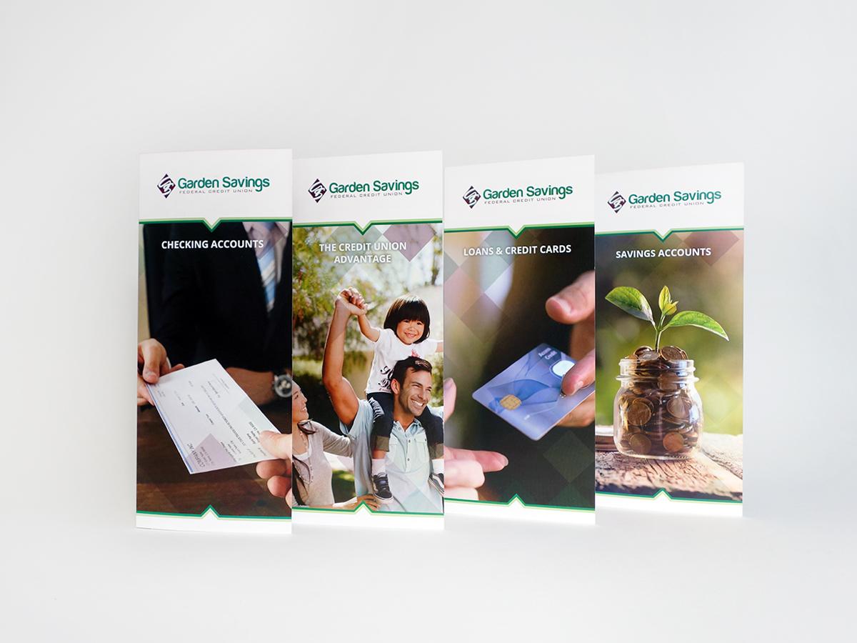 Garden Savings Federal Credit Union Brochures R J