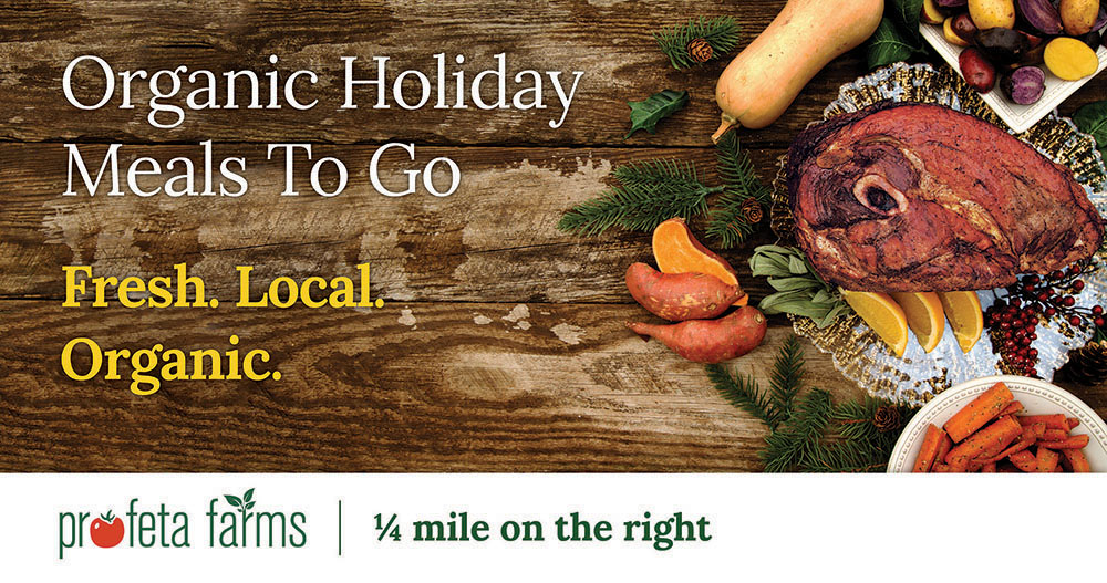 Organic Holiday Meals to Go