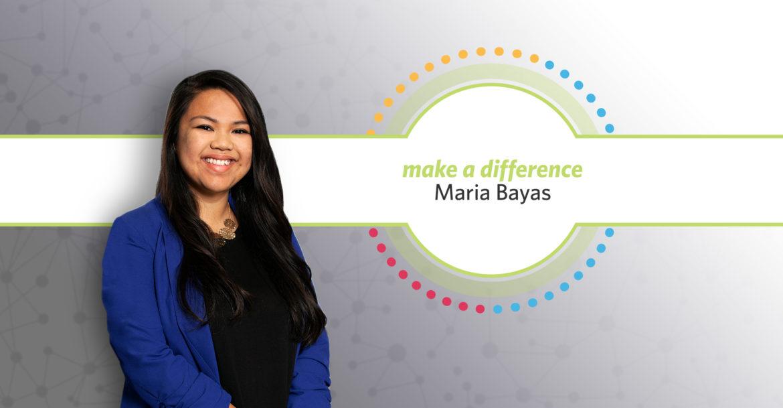Maria Bayas Make a Difference