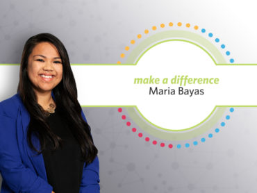 Maria Bayas Receives Make a Difference Award