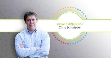 Chris Schmieder Receives Make a Difference Award