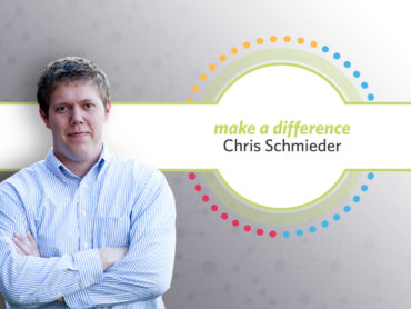 Chris Schmieder Receives Make a Difference Award