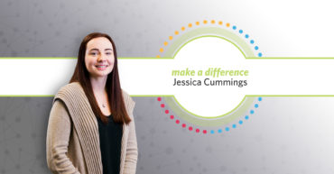 Jessica Cummings Receives Make a Difference Award