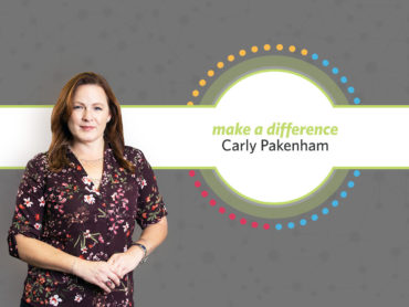 Carly Pakenham Make A Difference