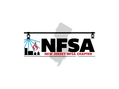 NJ Fire Sprinkler Safety Logo